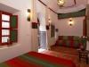 La chambre rouge et verte Kenza