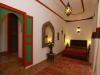 Chambre calme dans le patio du riad karmela